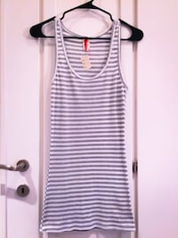 Brand New! Extra Long/Fitted Striped Tank Top, Small  Las Vegas, 89101
