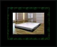 Singlesided pillowtop mattress with box all size Laurel