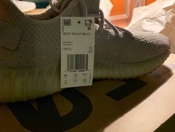 c3bb518a2db3d Used Adidas Yeezy Boost 350 V2 Sesame for sale in New York - letgo
