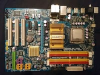 Moderkort Gigabyte & DualCore Processor. Angered, 424 48