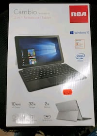 """MINT RCA Cambio 10.1"""" 32GB 2-in-1 Notebook/Tablet Baltimore, 21216"""