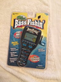 Brand New Radica Bass Fishin 10th Anniv Edition Handheld  Fairfax, 22030
