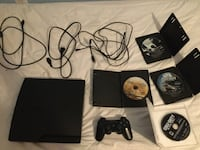 PS3 Slim + 4 Games Bowie, 20720