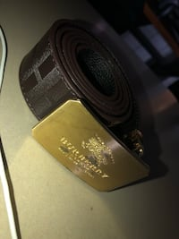 Brown Burberry belt reversible (Modified buckle) Baltimore, 21234