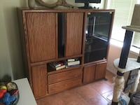Solid wood Tv/Gaming hutch EDMONTON