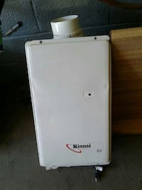 Rinnai endless hot water heater in excellent