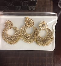 New Jewellery Earring sets (Indian costume jewellery) Mississauga, L5T 1B7