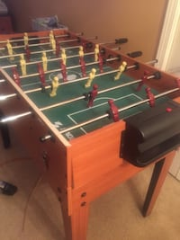 white and green foosball table 188 mi