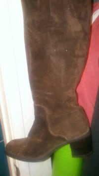 black suede knee high boots Mission Viejo, 92691