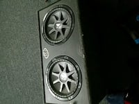 black and gray Kicker subwoofer Stafford, 22556