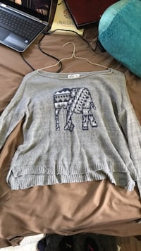 gray Pink by Victoria's Secret sweater 371 mi