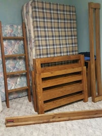 Bunk beds. Barn Door or This End Up