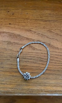 Silver bracelet  with RN symbol Springfield, 22152