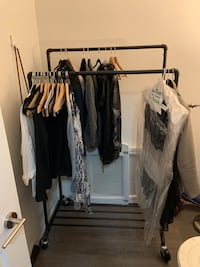 Selling rolling clothing rack