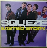 Squeeze ‎– East Side Story (Plak)