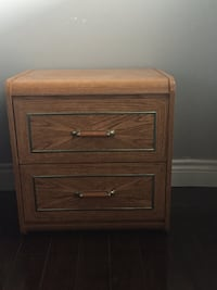 Gently used dresser and nightstand Toronto, M6M