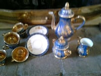 blue and white ceramic tea set Glendale, 85308