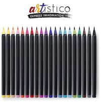 New, set of 20 watercolor brush pens 2352 mi