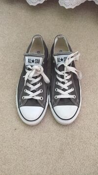 Pair of grey Converse All Star low-top sneakers Gaithersburg, 20878