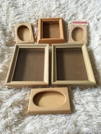 Shadow boxes for crafting