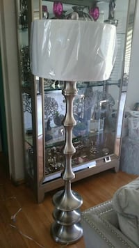 Silver Floor Lamp Clinton, 20735