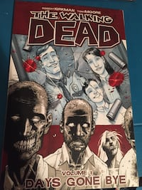 8 volumes of The Walking Dead comic book series Bayonne, 07002