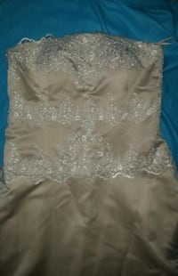 BEAUTIFUL GOWN WOMENS XL - 45 BUST/ 26.5 WAIST/ 61 HGT STRAPLESS Milford