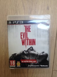 Le cas du jeu Evil Within PS3 Auterive, 31190