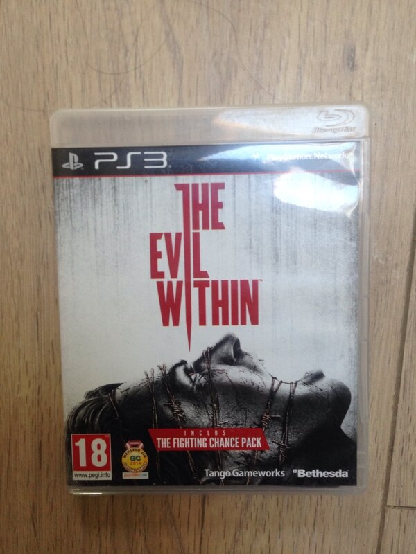 Le cas du jeu Evil Within PS3
