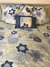 black and white floral textile Tracy, 95376