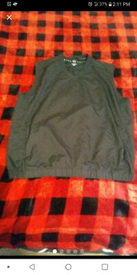 Nike golf vest jacket size medium