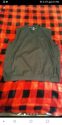 Nike golf vest jacket size medium Elkhart