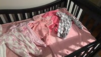 "Girl's NB size ""Sleep and Play"" onesies Capitol Heights, 20743"