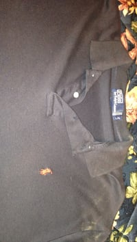 Black polo by ralph lauren polo shirt Kitchener, N2G 4T6