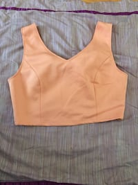 Salmon colored crop top size M Mountain View, 94040