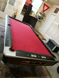 red and black pool table Haverhill, 01830