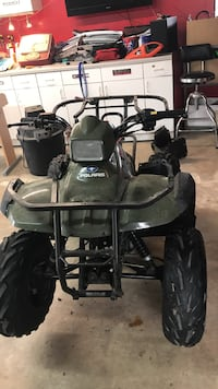 Green and black polaris atv Dallas, 75207