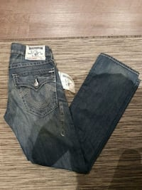 True Religion Straight leg Jeans Vaughan, L4K 5W4