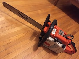 STIHL 031AV vintage chainsaw collectors saw powerful runs strong spark