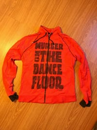 red and black The North Face zip-up jacket Arlington, 22201