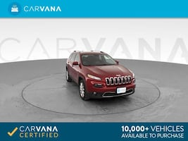 2014 Jeep Cherokee suv Limited Sport Utility 4D Red