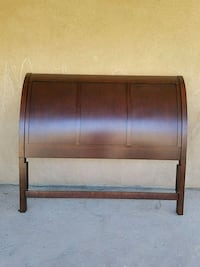 brown wooden headboard and footboard Mecca, 92254