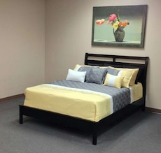 yellow bed sheet and pillows