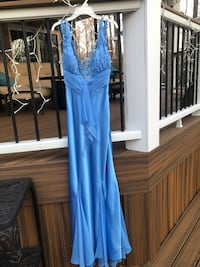 Mary L Couture Blue Prom Dress Size 4 Fairfax, 22030
