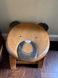 """Solid Wooden Foot Stool - 10"""" High"""