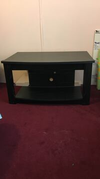 black wooden TV stand Six Mile, 29630