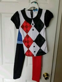 Harley Quinn Deluxe Girls Costume  Lewisville, 75056