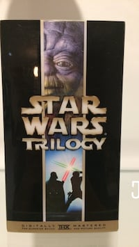 Star Wars trilogy VHS pack Toronto, M5V 0H8