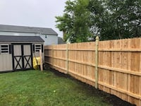 Fence and gate repair , 08322