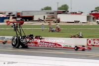 4x6 Color Drag Racing Photo DARRELL GWYNN Budweiser Top Fuel Dragster Dallas Smyrna